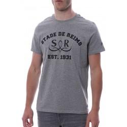 Abbigliamento Uomo T-shirt maniche corte Hungaria H-16TLMOBOSRR Grigio