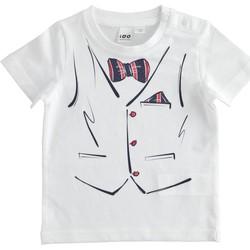 Abbigliamento Bambino T-shirt maniche corte Ido 4J692 Bianco