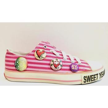 Scarpe Donna Sneakers basse Sweet Years ATRMPN-19853 Rosa
