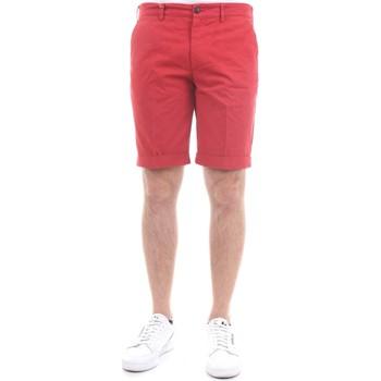 Abbigliamento Uomo Shorts / Bermuda 40weft SERGENTBE 979 Bermuda Uomo Rosso Rosso