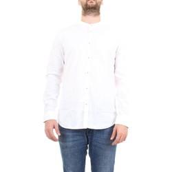 Abbigliamento Uomo Camicie maniche lunghe Manuel Ritz 2832E604L 203245 Camicia Uomo bianco bianco