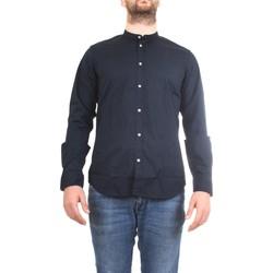 Abbigliamento Uomo Camicie maniche lunghe Manuel Ritz 2832E604L 203245 Camicia Uomo blu blu
