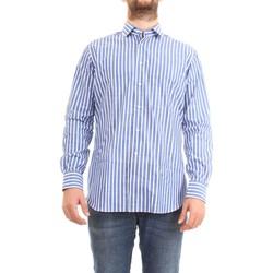Abbigliamento Uomo Camicie maniche lunghe Xacus 61201.002 celeste