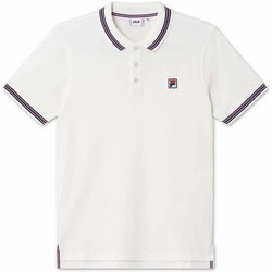 Abbigliamento Uomo Polo maniche corte Fila Polo  Matcho 4 Uomo Bianco Bianco