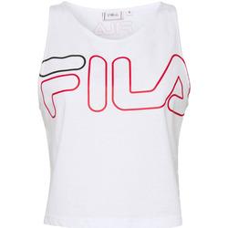 Abbigliamento Donna Top / T-shirt senza maniche Fila Canotta  Lesley Tank Donna Bianco Bianco