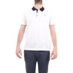 Abbigliamento Uomo Polo maniche corte Navigare NV72037 Polo Uomo Bianco Bianco