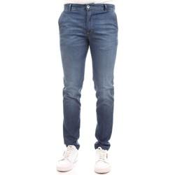 Abbigliamento Uomo Jeans slim Camouflage D11 A385 Blu