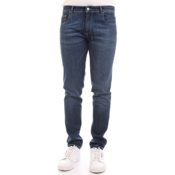 Abbigliamento Uomo Jeans slim Camouflage D00 A212 Blu