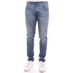 Abbigliamento Uomo Jeans slim Camouflage D18 A370 Denim