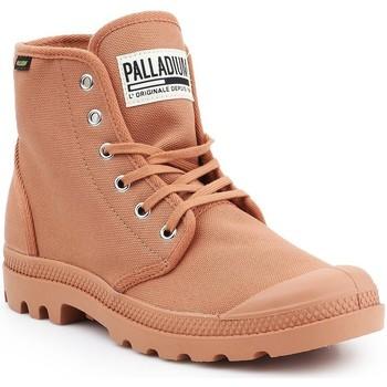 Scarpe Uomo Sneakers alte Palladium Manufacture Pampa HI Originale 75349-225-M brown