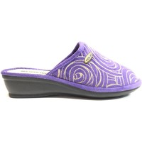 Scarpe Donna Pantofole Tiglio ATRMPN-19898 Viola