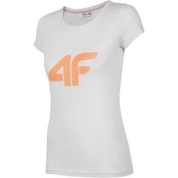 Abbigliamento Donna T-shirt maniche corte 4F NOSH4 TSD005 Grigio