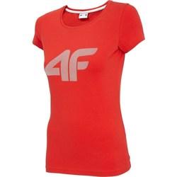 Abbigliamento Donna T-shirt maniche corte 4F TSD005 Rosso
