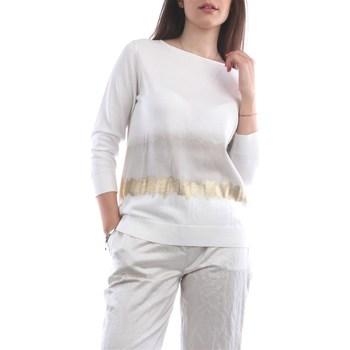 Abbigliamento Donna Maglioni Fabiana Filippi MAD270W315-A675 Girocollo Donna Bianco Bianco