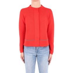 Abbigliamento Donna Gilet / Cardigan Fabiana Filippi MAD270W830-V288 Cardigan Donna Rosso Rosso