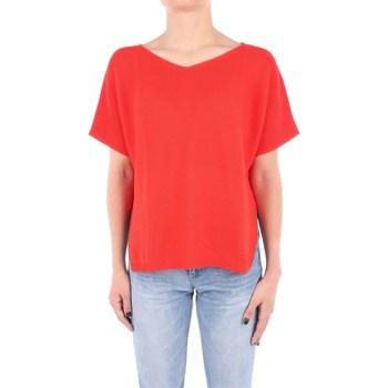 Abbigliamento Donna Maglioni Fabiana Filippi MAD270W831-V288 Scollo A V Donna Rosso Rosso