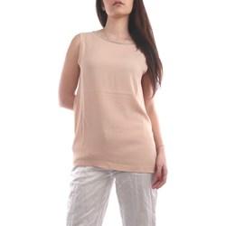 Abbigliamento Donna Top / Blusa Fabiana Filippi TPD270W709-V424 Canotte Donna Rosa chiaro Rosa chiaro