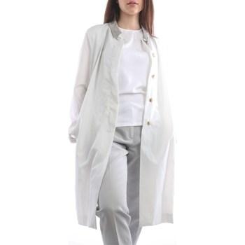 Abbigliamento Donna Cappotti Fabiana Filippi CTD270W572-A888 Lunghi Donna Grigio ghiaccio Grigio ghiaccio