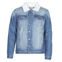 Abbigliamento Uomo Giacche in jeans Casual Attitude NOARO Blu / Medium