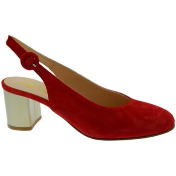 Scarpe Donna Sandali Soffice Sogno SOSO20052ro rosso