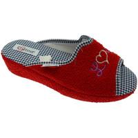 Scarpe Donna Pantofole Cristina CRIS24ros rosso