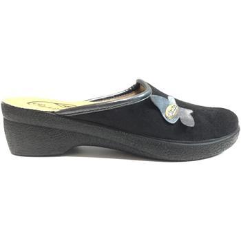 Scarpe Donna Pantofole Saniflex ATRMPN-19907 Nero