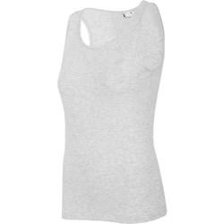 Abbigliamento Donna Top / T-shirt senza maniche 4F TSD003 Grigio