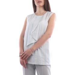 Abbigliamento Donna Top / Blusa Fabiana Filippi TPD270W727-D152 Camicette Donna Celeste Celeste