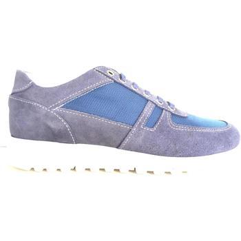 Scarpe Uomo Sneakers basse Frankie Model ATRMPN-19941 Blu