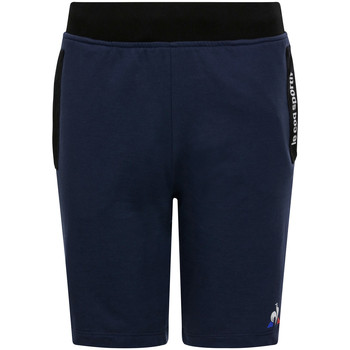 Abbigliamento Unisex bambino Shorts / Bermuda Le Coq Sportif Ess Short Regular N Blu