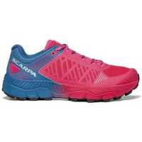 Scarpe Donna Running / Trail Scarpa Spin Ultra Rose Fluo Blue Steel 33072-352-4  ROSA