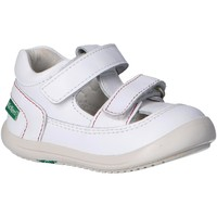 Scarpe Unisex bambino Sandali Kickers 692392-10 KID Blanco