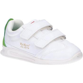 Scarpe Unisex bambino Multisport Kickers 686291-10 KICK 18 BB VLC Blanco