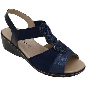 Scarpe Donna Sandali Confort ACONFORT7009blu blu
