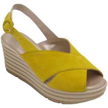 Scarpe Donna Sandali Confort ACONFORT7076gl giallo
