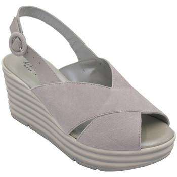 Scarpe Donna Sandali Confort ADIECIC7076gr grigio