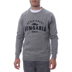 Abbigliamento Uomo Felpe Hungaria H-16TLMOEOLE Grigio