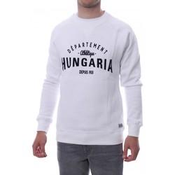 Abbigliamento Uomo Felpe Hungaria H-16TLMOEOLE Bianco