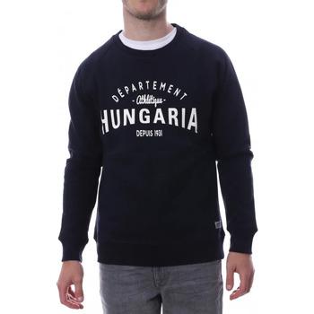 Abbigliamento Uomo Felpe Hungaria H-16TLMOEOLE Blu