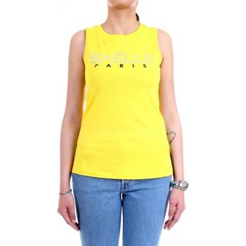 Abbigliamento Donna Top / T-shirt senza maniche GaËlle Paris GBD6061 giallo