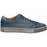 Scarpe Uomo Sneakers basse Santoni DERBY 7 OCC. FORGOOSE azzurro