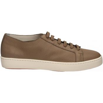 Scarpe Uomo Sneakers basse Santoni CLEANIC-MIA sabbia