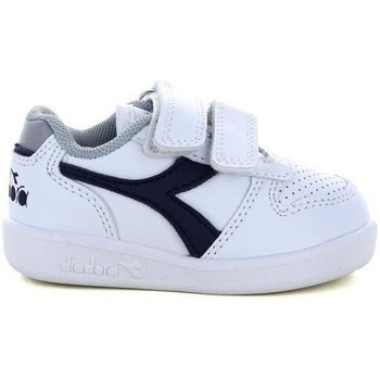 Scarpe Unisex bambino Sneakers basse Diadora 173302 WHITE
