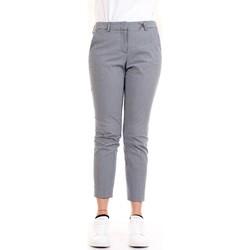 Abbigliamento Donna Pantaloni 5 tasche Cappellini M04716 Blu