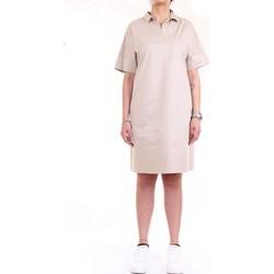 Abbigliamento Donna Abiti corti Cappellini M02859 Beige