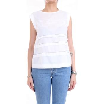 Abbigliamento Donna Top / Blusa Cappellini M08166L1 Bianco