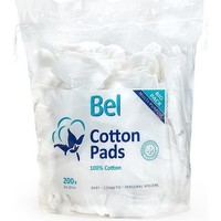 Bellezza Detergenti e struccanti Bel Cotton Pads 100% Algodón 8x10 Cm  200 uds