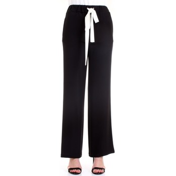 Abbigliamento Donna Pantaloni morbidi / Pantaloni alla zuava Lanacaprina PF2250 Nero