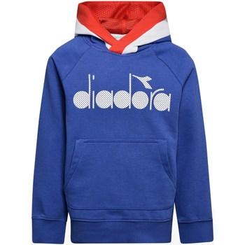 Abbigliamento Bambino Felpe Diadora 102.175904 Con Cappuccio Bambino Blu Blu
