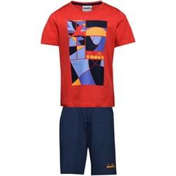 Abbigliamento Bambino Tuta Diadora 102.175899 Tute Bambino Rosso Rosso